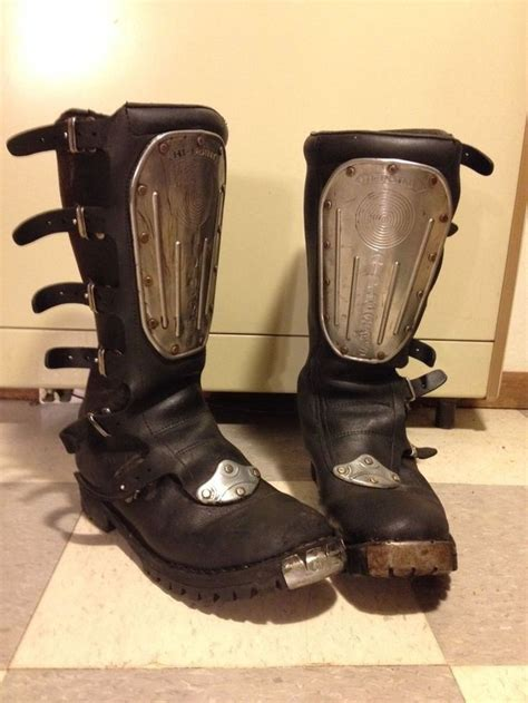 vintage motocross boots 1000 images about hi point boots on