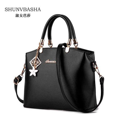 pu leather shoulder bag fashion sac a