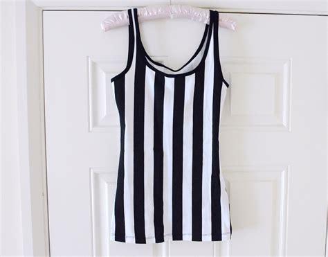 Dress Kp Stripe Black White 081265 primark haul miss and sparkle
