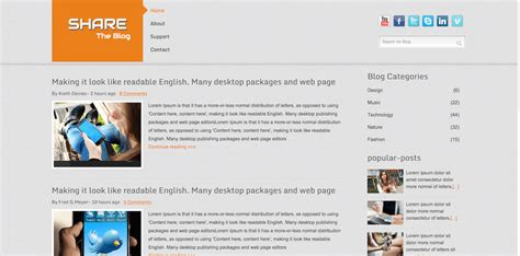 blog commenting sites for home decor top 25 best free bootstrap blog templates coded using