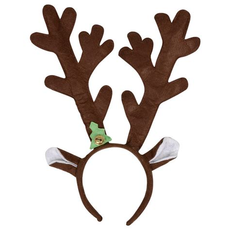 brown reindeer antlers christmas xmas festive novelty headband