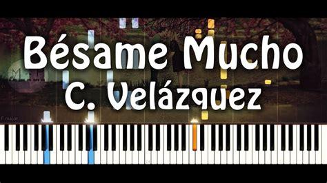 besame mucho piano cover b 233 same mucho piano cover richard clayderman