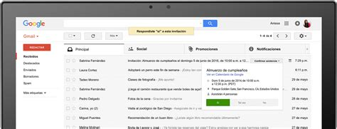 gmail bandeja de entrada correo gmail c 243 mo crearlo iniciar sesi 243 n eliminar