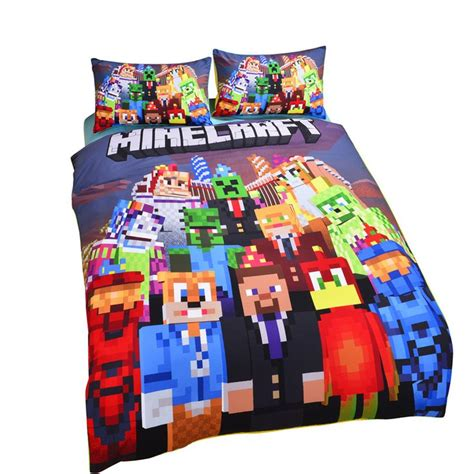 minecraft comforter sets pin minecraft bedding sets on pinterest