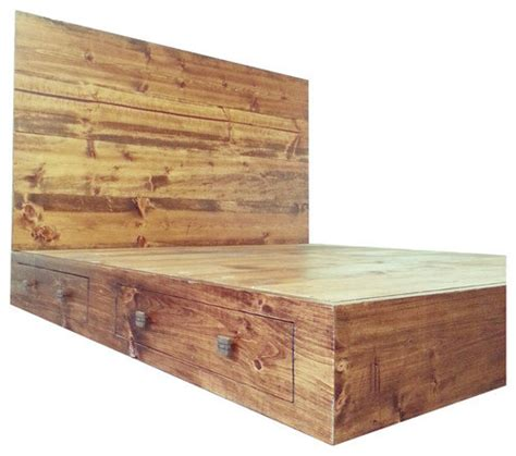 rustic bed frame plans rustic industrial bed frame with headboard