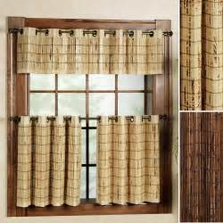 Bamboo Kitchen Curtains Bamboo Worktops Photos Bamboo Window Treatments