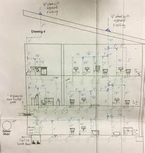 illinois plumbing test drawing plumbing zone