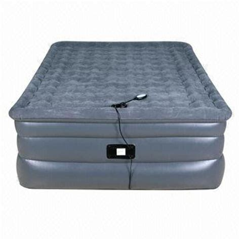 size raised air bed with remote global sources