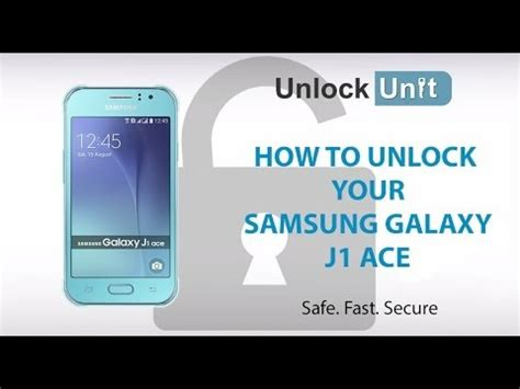 Samsung J1 Ace Tabloid Pulsa unlock samsung j1 ace sm j110h sim network unlock pin