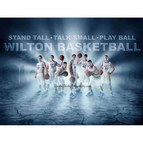 sports team photography templates stand photoshop template high school senior