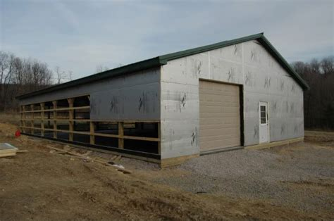 Insulating A Pole Barn Garage by 1000 Ideas About Pole Barn Insulation On