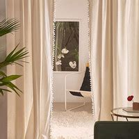 palma fringe light blocking window curtain umbra trigg wall planter set from outfitters
