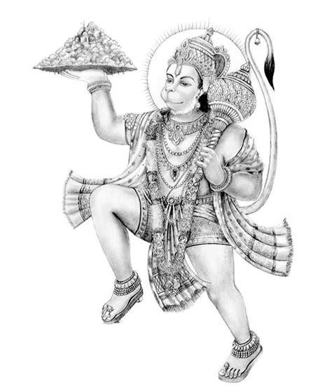 painting mantra bajrang bali buy painting mantra bajrang