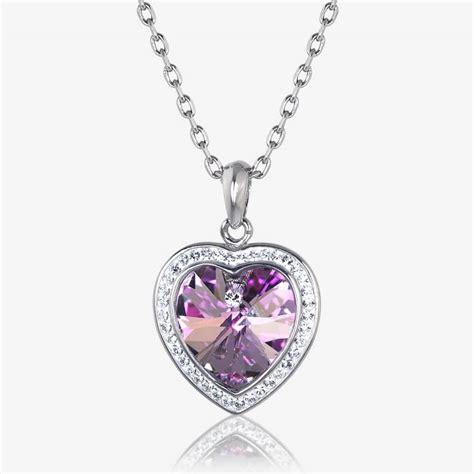 make swarovski jewelry sabrina necklace made with swarovski 174 crystals