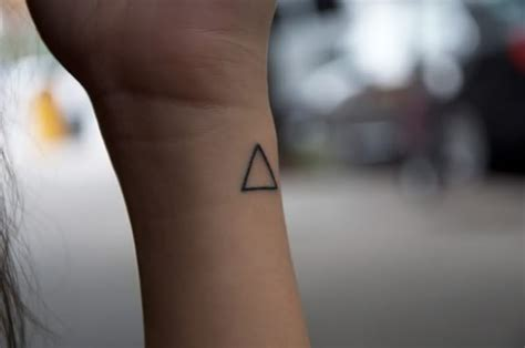 simple triangle tattoo 68 magnificent triangle wrist tattoos
