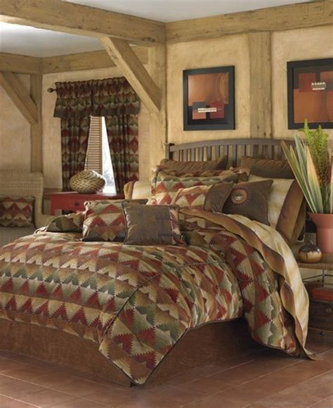 southwestern style comforter sets santa fe bedding ensemble by croscill santa fe collection