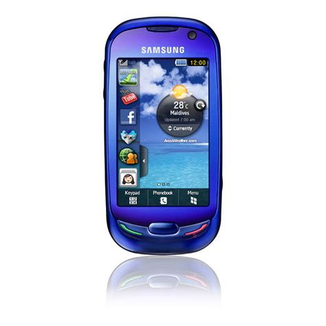 Samsung Touch Blue samsung launches blue earth touch eco friendly mobile