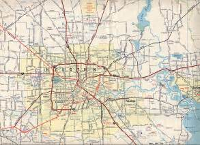 highway map texasfreeway gt houston gt historical information gt road