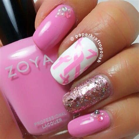 Yay Or Nay Boycott Breast Cancer Awareness Month by 116 Best Breast Cancer Awareness Nail Design Images On