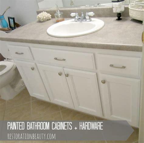 Painted Bathroom Cabinets Hardware, bathroom cabinet hardware   TSC