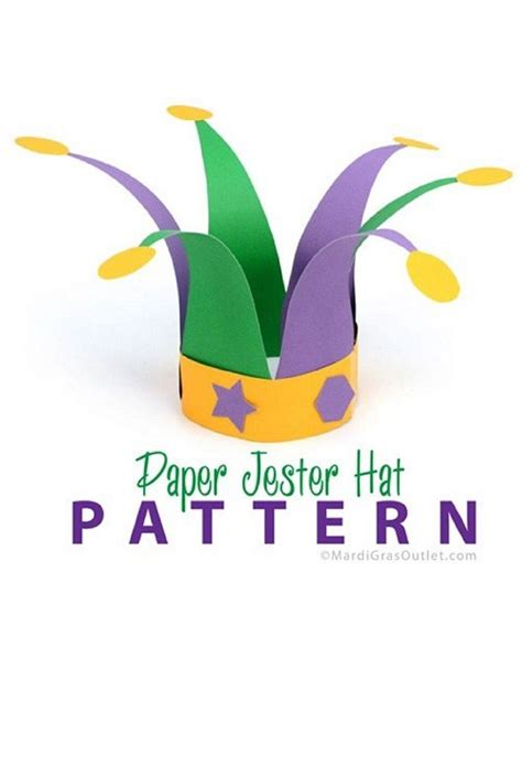 How To Make A Hat With Construction Paper - use colorful construction paper to easily make jester hats