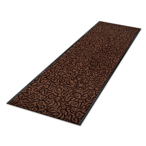Floor Runner Rugs Carpet Floor Runner Brasil Design Brown Custom Size