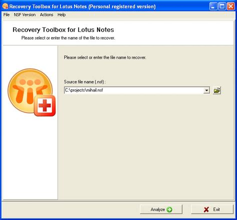 lotus notes version history free recovery toolbox for lotus notes by recovery