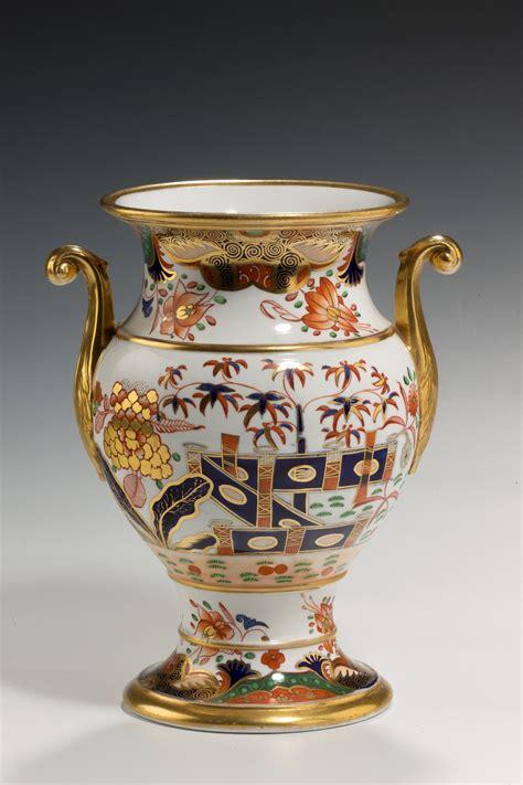 Spode Vase by Antique Spode Vase Imari Pattern Richard Gardner Antiques