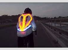 This crazy cycling jacket has 250 LEDs, indicators, and ... France News 24 Live