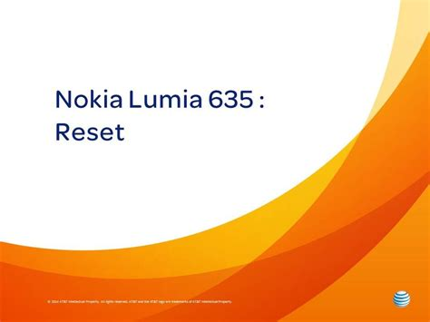 resetting a nokia lumia 635 nokia lumia 635 reset youtube