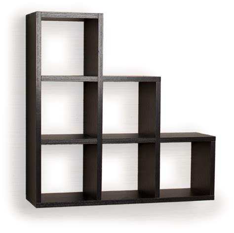 small black wall mount shelf