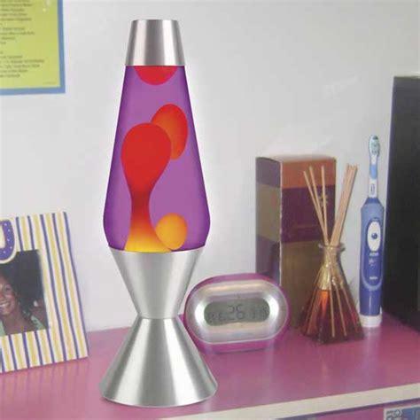 27 inch lava l large metallic silver lava l yellow wax purple liquid