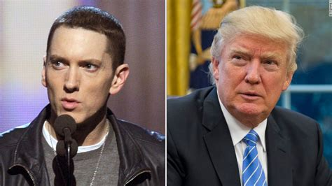 eminem donald trump lyrics eminem unleashes on donald trump in new song quot no favors