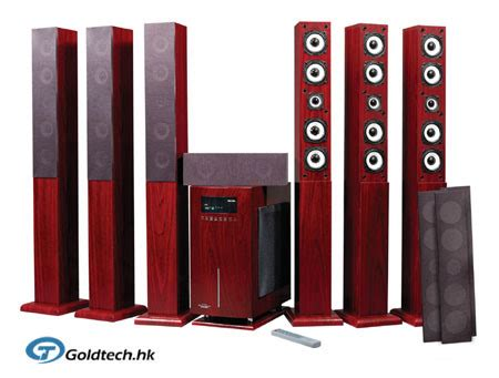 china 7 1 ch home theater speaker system t7500 china