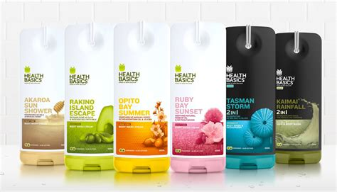 design label packaging health basics designed by milk packaging design ideas
