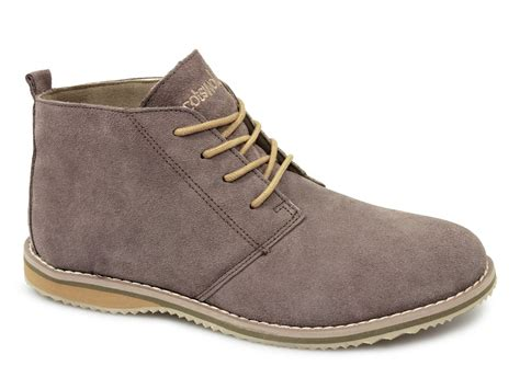 cotswold snowhill mens womens suede desert boots beige