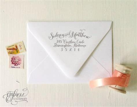 wedding invite return address return address st for wedding invitations oxsvitation