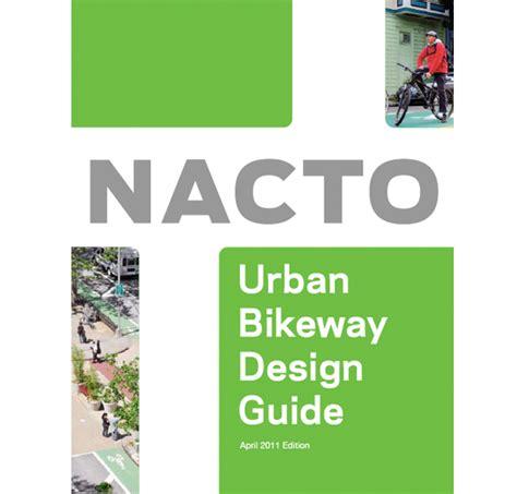 magazine design guide pdf nacto urban bikeway design guide on behance