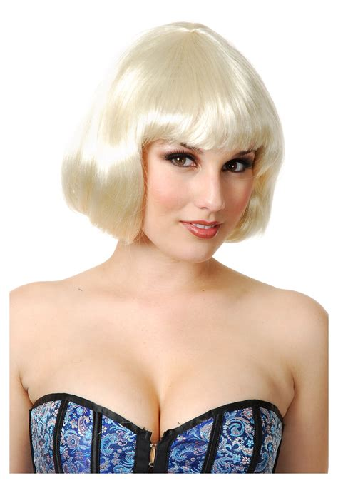 Blonde Bob Halloween Costumes | blonde bob wig halloween costumes