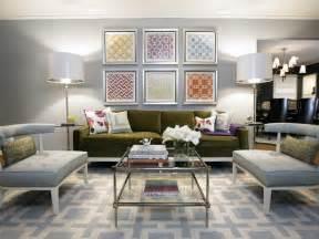 colorful modern living room multi color patterned