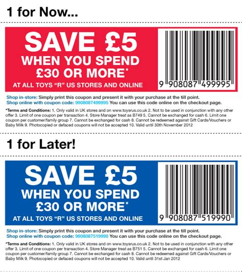 printable vouchers uk 2015 toys r us discount codes and promo codes june 2015