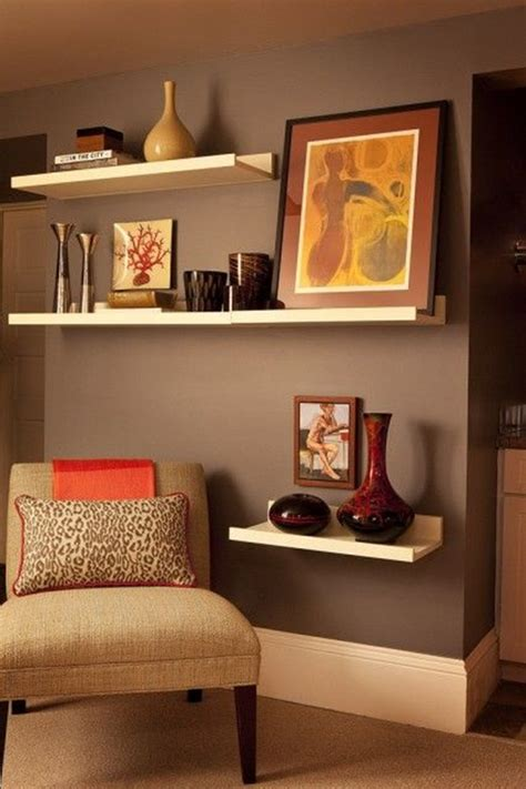 Living Room Floating Shelves Ideas 40 Insanely Cool Floating Shelf Ideas For Your Home