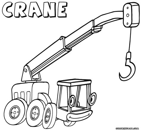 coloring sheets crane coloring pages coloring pages to and print
