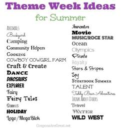 Ideas For Theme - best 25 summer c themes ideas on