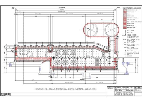 re layout complete refractory and furnace engineering plibrico