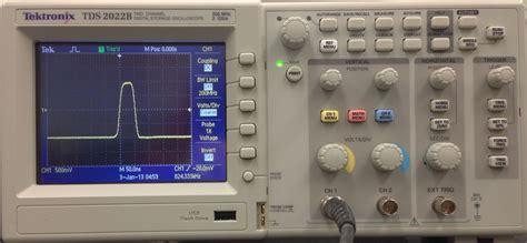 high pass filter oscilloscope electronics