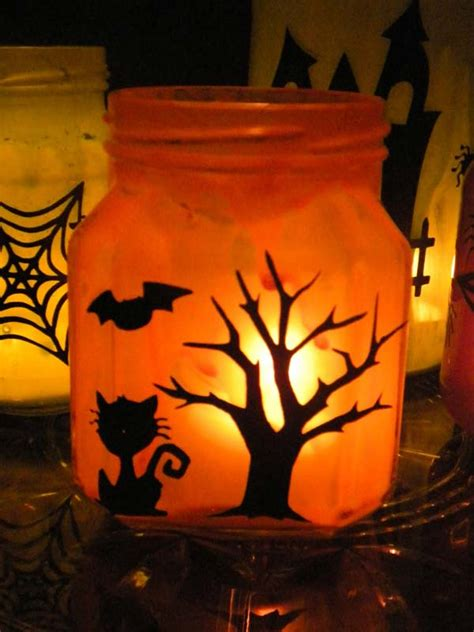 mason jars halloween decorations ideas decoration love