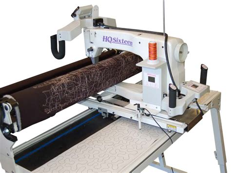 hq sixteen arm quilting machine w studio frame