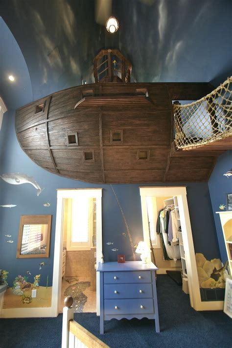 The Ultimate Pirate Ship Bedroom My Modern Met Pirate Ship Bed