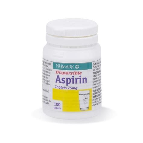 aspirin walmart buy aspirin dispersible 75mg tablets 100